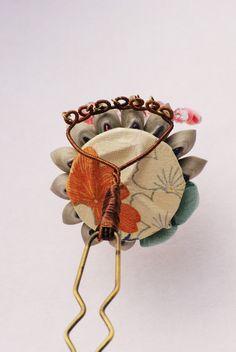 愛姫・組かんざし(- 姫コ -): 作品: 野庵 yarn 着物小物のお店 (根付、帯留、かんざし、簪、和小物 等)