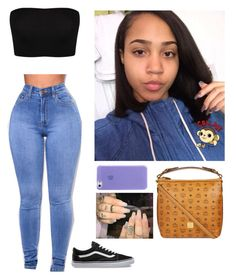 """""""Untitled #1023"""" by mazzyfaye ❤ liked on Polyvore featuring MCM and Vans"""