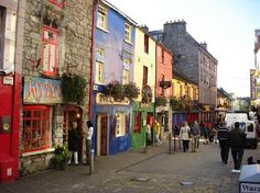 Galway City, Ireland. My favorite town in Ireland!