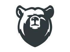 Bear designed by Shmart Studio. Connect with them on Dribbble; Bear Design, Animal Design, Logo Animal, Bear Animal, Inspiration Logo Design, Bear Tattoos, Bear Illustration, Art Diy, Creative Logo