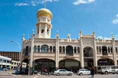 Jumma Mosque, the largest mosque in the Southern hemisphere, Durban, South Africa