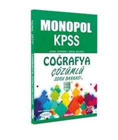 2017 KPSS Coğrafya Çözümlü Soru Bankası Monopol Yayınları