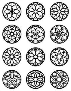 Mandala Dots, Mandala Design, Mandala Art Lesson, Geometric Logo, Ornaments Design, 3d Prints, Stencil Designs, Pyrography, Islamic Art