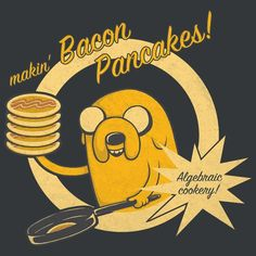 #adventuretime #bacon #pancakes #jake
