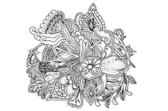 Free art coloring page Affinity Designer, Vector Format, To Color, Coreldraw, Vector Design, Zentangle, Coloring Pages, Vector Free, Mandala