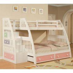 Preciosas camas para niñas guapas...