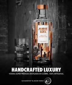 Handcrafted Luxury | Absolut ELYX