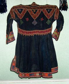 Folk and Applied Art Museum, Khevsureti Man's Tunic, Tbilisi, Georgia