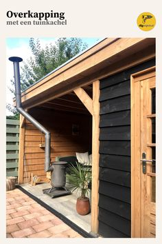 Porch Oak, Bbq Hut, Mobile Home Renovations, House Cladding, Backyard Hammock, Diy Home Repair, House Extensions, Cabins In The Woods, House Front