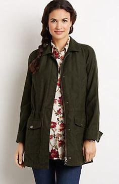 58b58507f2028 brushed cotton field jacket from j.jill  169 ( 109 sale 12 14)