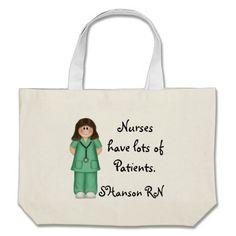 Nurses have lots of Patients Bag