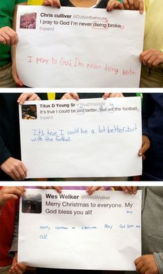 Second Graders Correct NFL Players' Tweet Grammar