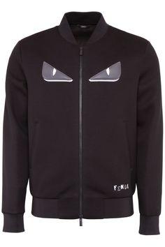 FENDI SWEATSHIRT WITH EYES EMBROIDERY. #fendi #cloth #