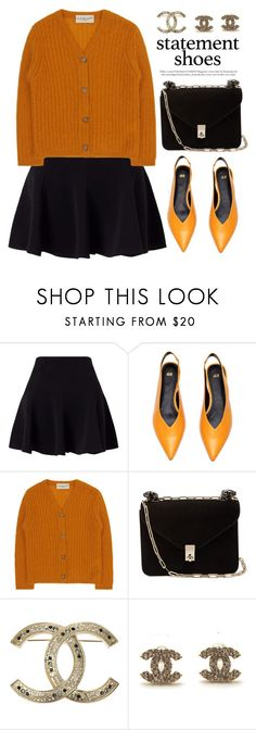 """""""Statement shoes"""" by miee0105 ❤ liked on Polyvore featuring Miss Selfridge, April Showers, Valentino and Chanel"""