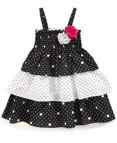 Penelope Mack Baby Dress, Baby Girls Dots and Daisies Sundress - Kids Baby Girl (0-24 months) - Macy's