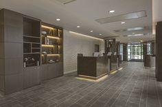 Expona Commercial luxury vinyl tile flooring - Amazonian Slate