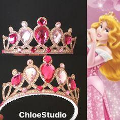 SALEAurora CrownAurora HeadbandSleeping Beauty by ChloeStudio