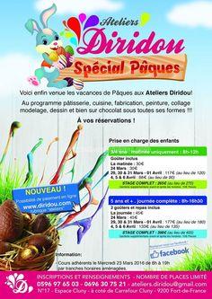 Ateliers Diridou Spécial Pâques Vous aussi intégrez vos événements dans l'Agenda des Sorties de www.bellemartinique.com C'est GRATUIT !  #martinique #Antilles #domtom #outremer #concert #agenda #sortie #soiree
