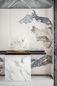 Lobby Interior, Interior Walls, Luxury Interior, Interior Architecture, Interior Design, Wall Design, House Design, Chinese Interior, Wall Treatments