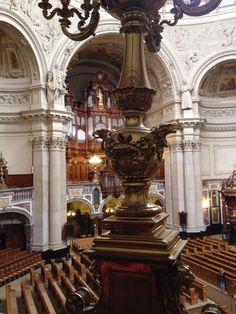Uitzicht in Berliner Dom