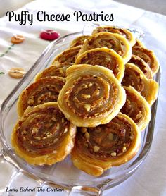 Lady Behind The Curtain - Puffy Cheese Pastries