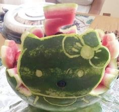 hello kitty with watermelon - Google Search
