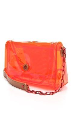 Tory Burch Jesse Crossbody Bag Clear Handbags, Tory Burch Bag, Shoulder Strap, Crossbody Bag, Heaven, Gift Ideas, Orange, My Style, Gifts