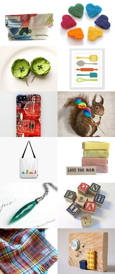 Add Colors to a Grey Day by Silvia Marzucchi on Etsy--Pinned with TreasuryPin.com