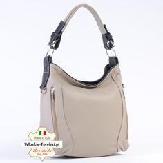 2addb11447a5d Nowy model torebki  Allegra wykonana ze skóry naturalnej licowej
