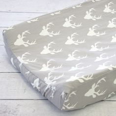 Caden Lane Baby Bedding - Changing Pad Cover - Woodland Deer, $38.00 (http://cadenlane.com/changing-pad-cover-woodland-deer/)