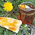 Confiture de fleurs de pissenlits à teneur réduite en sucres {recette- cramaillotte}
