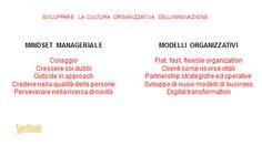 Cultura organizzativa dell'innovazione