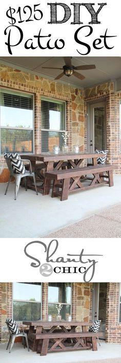 14 DIY Outdoor Furniture Projects - The Summery Umbrella