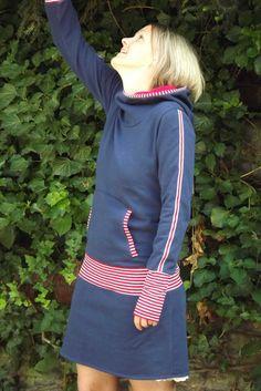 Maritimes Sweat-Kleid von -byme- auf DaWanda.com