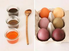 DIY Anleitung Ostereier natürlich färben // DIY tutorial: natural colors for easter eggs via DaWanda.com