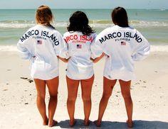 Marco Island, Florida spirit jerseys
