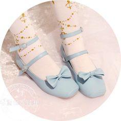 라오어 동아 가족 로리타 로리타 일본식 과자 빈티지 스트랩 발레 댄스 신발, 여자 단식 신발 공주 센학과