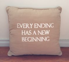 Every ending has a new beginning Excusez Mon Francais by Lindsay Croft