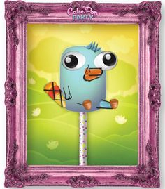 Perry the Platypus!  (Cake pop party, cake pops, design app, top kid app, creative app, iPad, ingredients, party)