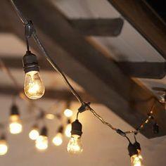 Vintage edison bulb outdoor string lights my wish list pinterest table in a bag sl5015 15 light vintage metro string lights rope outdoor string lightingoutdoor aloadofball Images