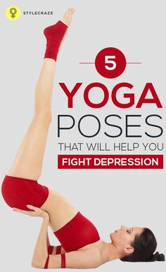 Yoga is the best way to to calm & soothe the mind & spirit. When your routine is making you depressed, then practicing #yoga for depression is ...