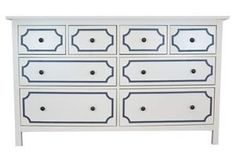 Picture of Anne O'verlays Kit for IKEA Hemnes (8 drawer)