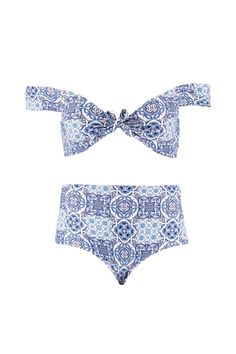 Plus Miley Tie Detail Bikini alternative image