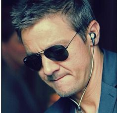 Jeremy Renner, would love to know whats on his play list.