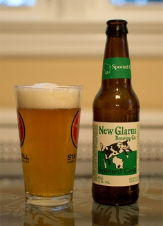 spotted cow!  Only in Wisconsin