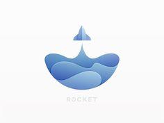 100 Logo Design Ideas for Designers Who Are Stuck Logo Inspiration, Kreis Logo, Logos Online, Rockets Logo, 100 Logo, Logo Design Trends, Design Ideas, Logo Design India, Rocket Design