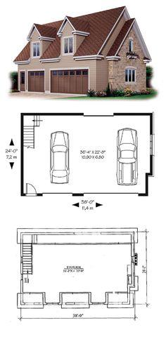 34 Best 3 Car Garage Plans Images In 2019 3 Car Garage Plans Garages Hobby Room