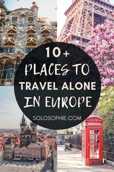 Solo in Europe? Here are the very best destinations and cities for solo female travel in Europe, including top attractions and where to stay!