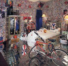 Pepon Osorio's installation showcasing his Puertorrican heritage