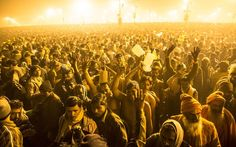 Always my dream to visit the Ganges in India for the Maha Kumbh Mela